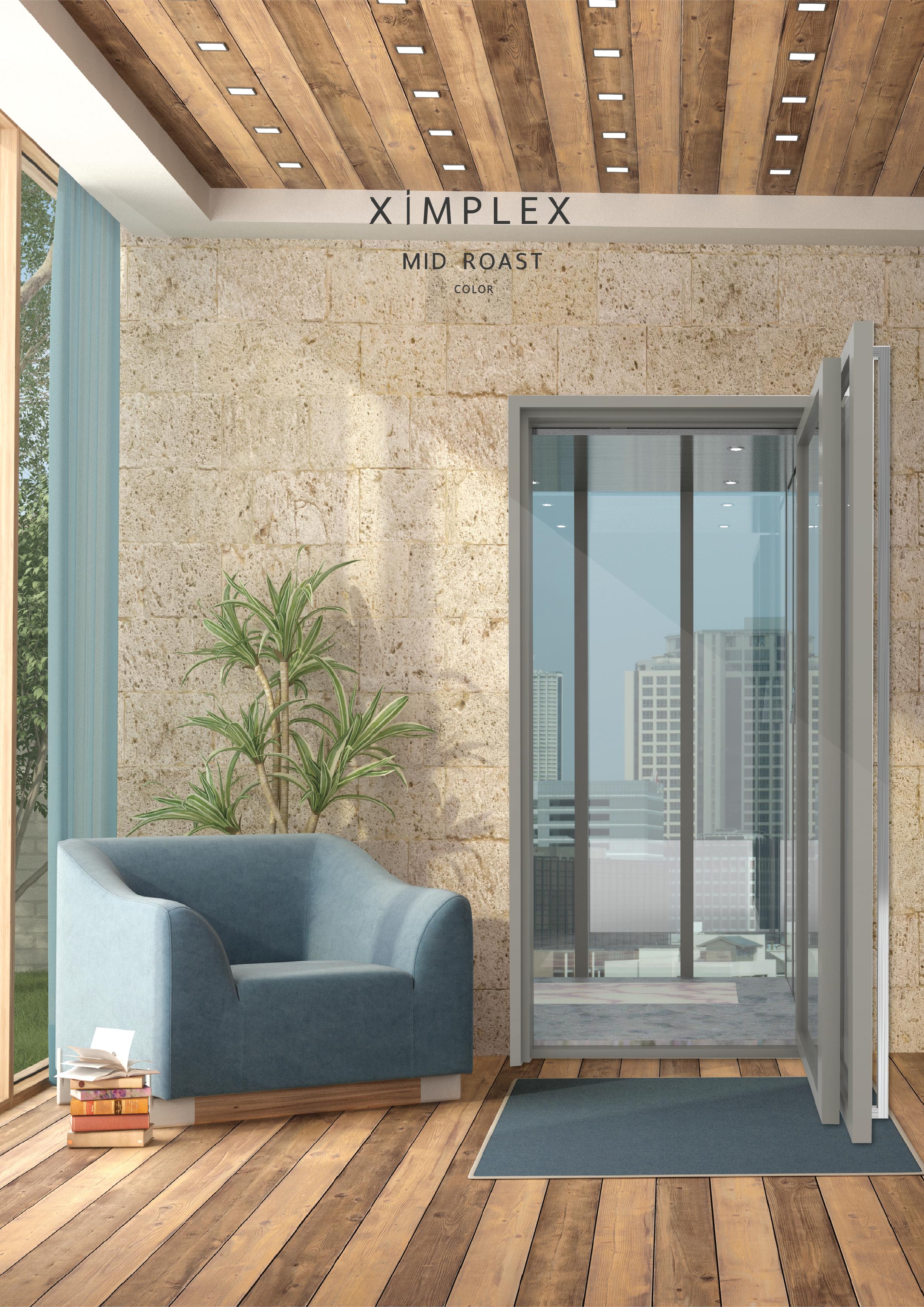 Ximplex Home Lift Home Elevator Ximplex ลิฟต์บ้าน ลิฟท์บ้าน Mid roast design