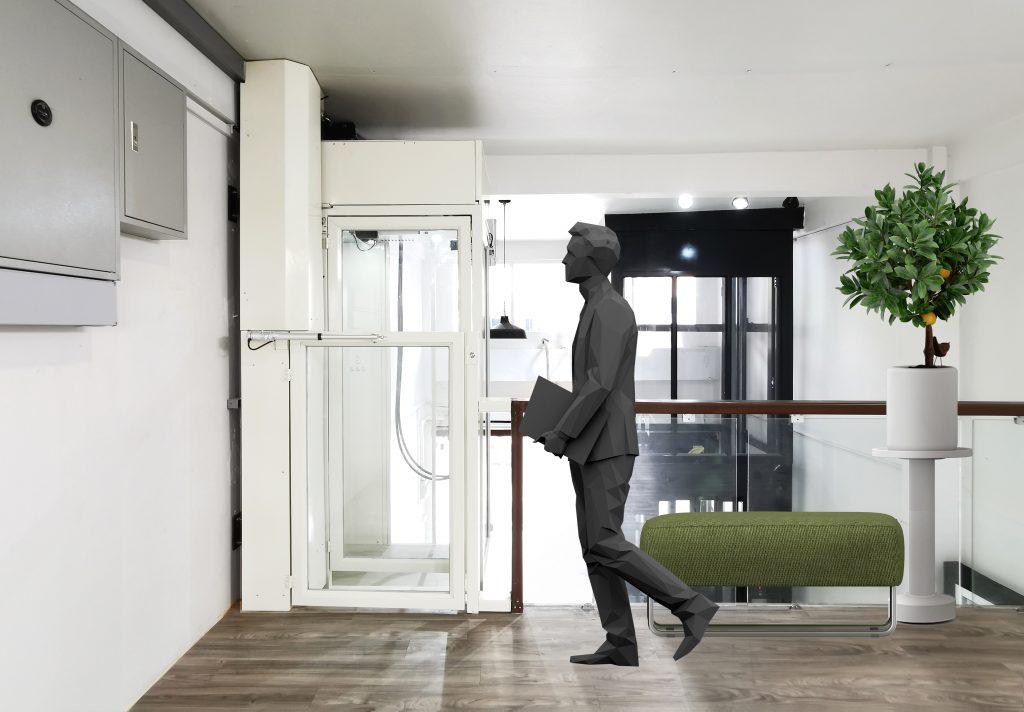 โชว์รูม ออฟฟิศ Ximplex ลิฟต์บ้าน