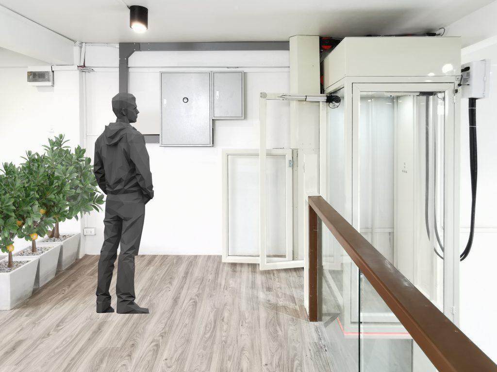 ลิฟต์บ้าน โชว์รูม ออฟฟิศ Ximplex